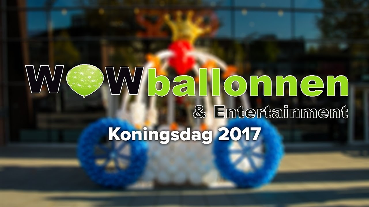 WOWballonnen Koningsdag 2017
